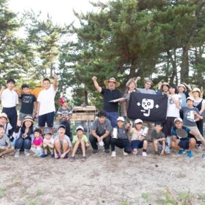 野営の海賊たち