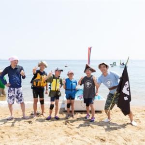 海遊びの海賊達